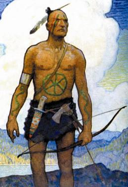 The Last of the Mohicans by Newell Convers Wyeth