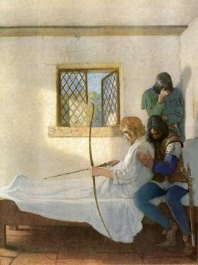 The Passing of Robin Hood by Newell Convers Wyeth