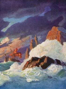 The Storm on the Firth of Clyde by Newell Convers Wyeth