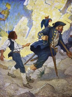 Treasure Island, 1911 by Newell Convers Wyeth