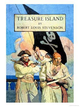 Treasure Island by Newell Convers Wyeth