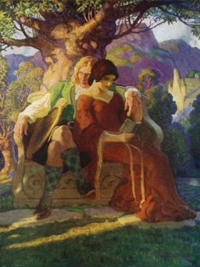 Wallace and Marion by Newell Convers Wyeth