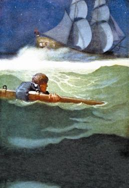 Wreck of the Covenant by Newell Convers Wyeth