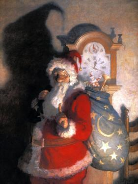 Wyeth: Old Kris (Kringle) by Newell Convers Wyeth