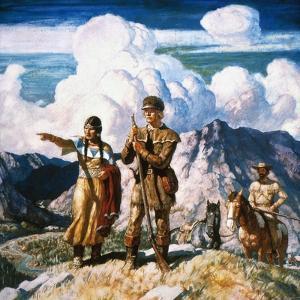 Wyeth: Sacajawea by Newell Convers Wyeth