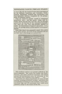 Newspaper Parcel Prepaid Stamps