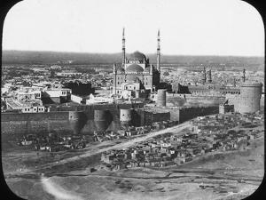 The Saladin Citadel of Cairo, Egypt, C1890 by Newton & Co
