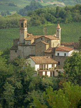 Tenuta La Volta, an Old Fortified Wine Cantina, Near Barolo, Piedmont, Italy, Europe by Newton Michael