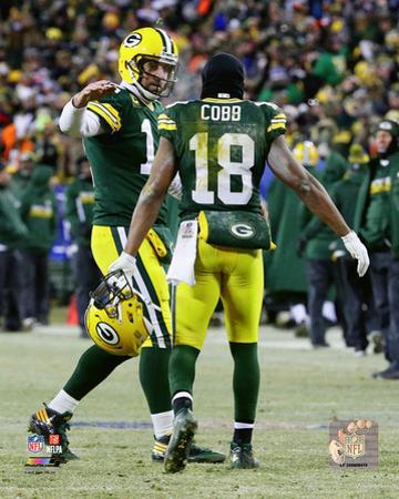 NFL: Aaron Rodgers & Randall Cobb 2016 NFC Wild Card Game