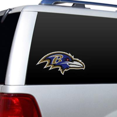 NFL Baltimore Ravens Diecut Window Film