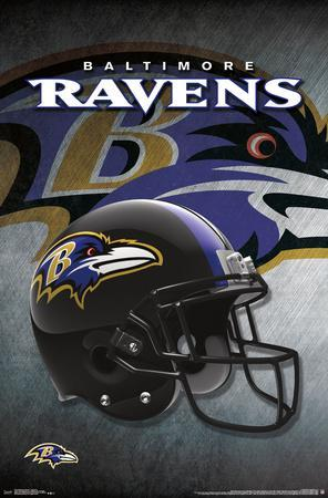 Affordable Baltimore Ravens Helmets Posters for sale at