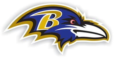 NFL Baltimore Ravens Vinyl Magnet