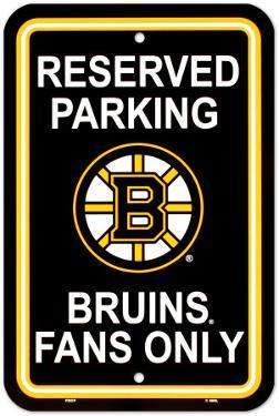NFL Boston Bruins Parking Sign