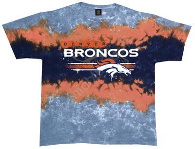 NFL: Broncos Horizontal Stencil
