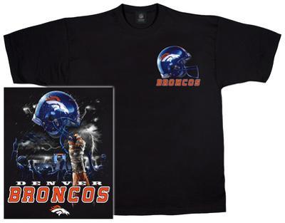 NFL: Broncos Logo Sky Helmet