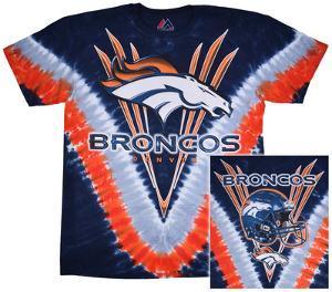 NFL: Broncos Logo V-Dye