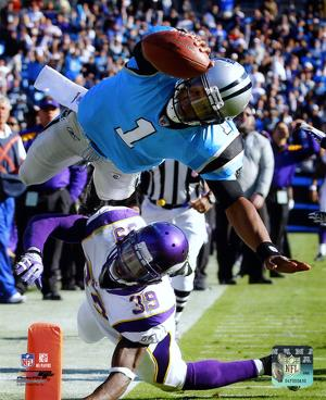 NFL Cam Newton 2011 Action
