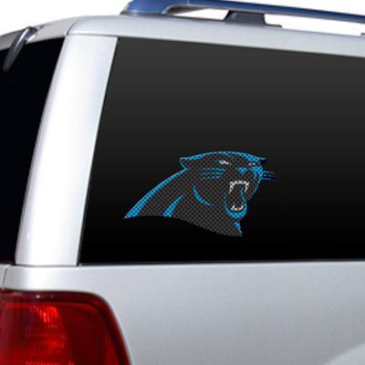 NFL Carolina Panthers Diecut Window Film