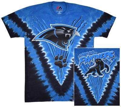 NFL: Carolina Panthers- Logo V-Dye (Front/Back)