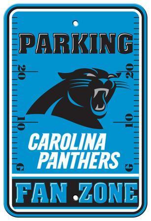 NFL Carolina Panthers Plastic Parking Sign - Fan Zone