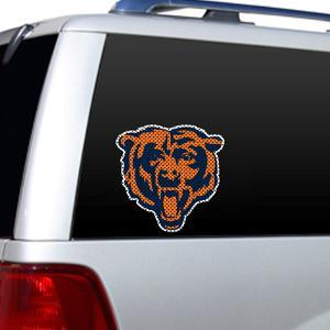 NFL Chicago Bears Diecut Window Film