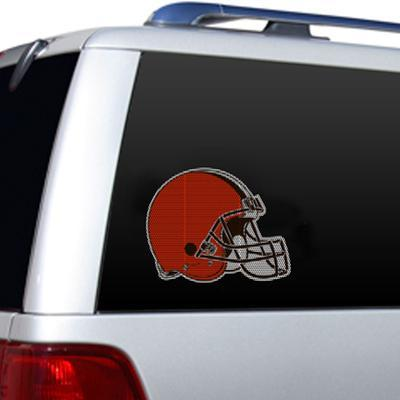 NFL Cleveland Browns Diecut Window Film