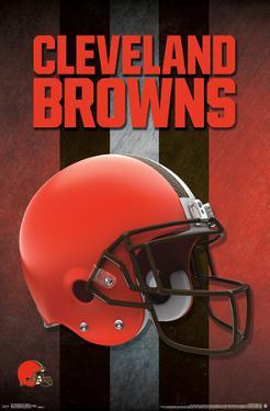 NFL: Cleveland Browns- Logo Helmet 16