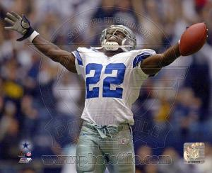 NFL Dallas Cowboys # 22 Emmitt Smith Sports Photo