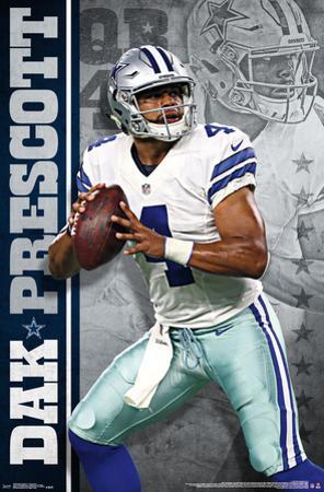 NFL: Dallas Cowboys- Dak Prescott 16