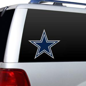 NFL Dallas Cowboys Diecut Window Film