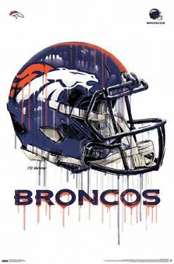 NFL Denver Broncos - Drip Helmet 20
