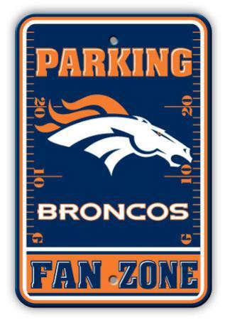 NFL Denver Broncos Parking Sign
