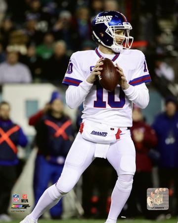 NFL: Eli Manning 2016 Action