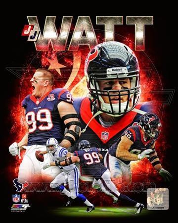 NFL J.J. Watt 2013 Portrait Plus