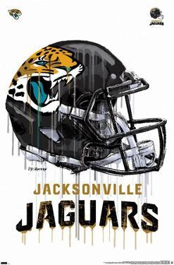NFL Jacksonville Jaguars - Drip Helmet 20
