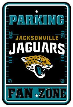 NFL Jacksonville Jaguars Plastic Parking Sign - Fan Zone