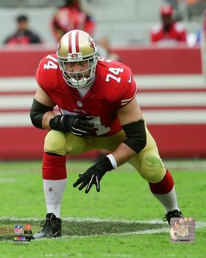 NFL: Joe Staley 2015 Action
