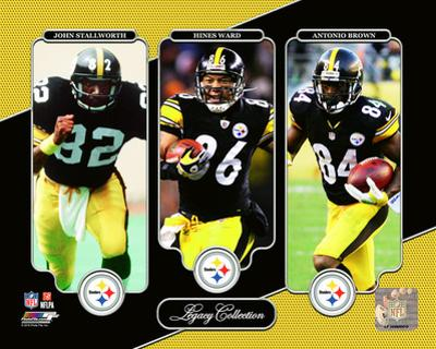 NFL: John Stallworth, Hines Ward, Antonio Brown Legacy Collection