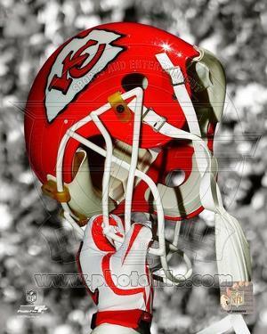 NFL Kansas City Chiefs Helmet Spotlight
