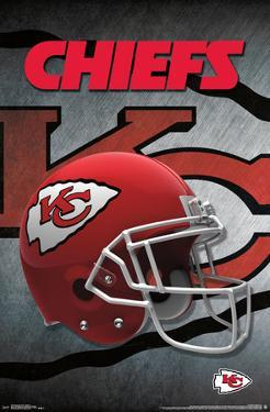 NFL: Kansas City Chiefs- Logo Helmet 16