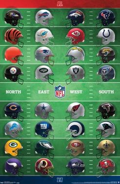 NFL League - Helmets 18