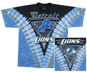 NFL: Lions Logo V-Dye