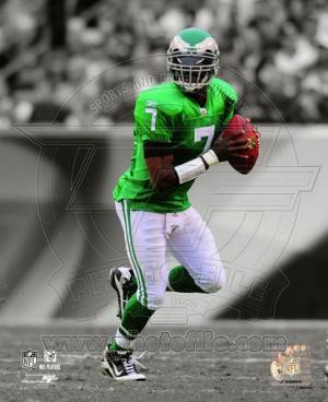 NFL Michael Vick 2010 Spotlight Action