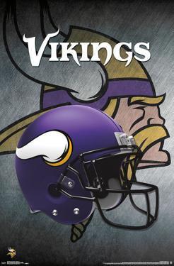 NFL: Minnesota Vikings- Helmet Logo