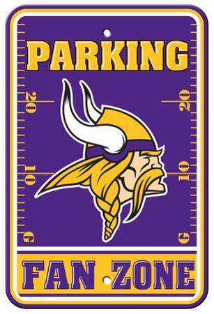 NFL Minnesota Vikings Plastic Parking Sign - Fan Zone