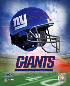 NFL N.Y. Giants Helmet Logo