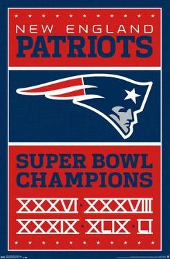NFL New England Patriots - Champions 17