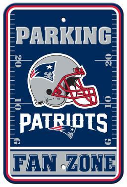 NFL New England Patriots Parking Sign