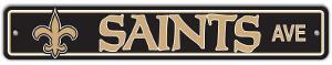 NFL New Orleans Saints Street Sign