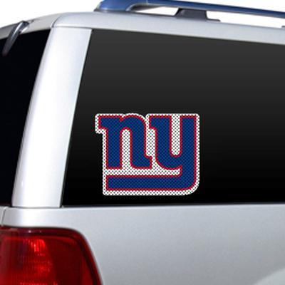 NFL New York Giants Diecut Window Film